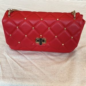 NWT Badgley Mischka Bag Red